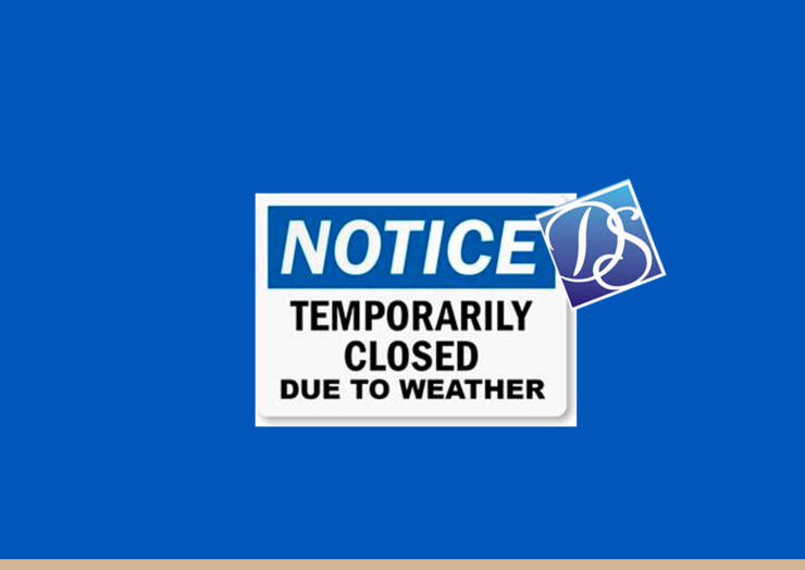 Centers Closed 9/11& 9/12 Due to Weather!