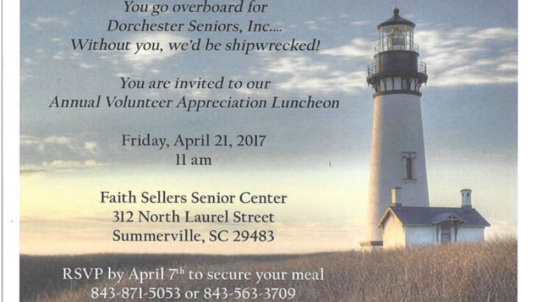 2017 Volunteer Appreciation Luncheon