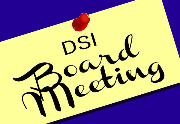 Upcoming Board Meetings