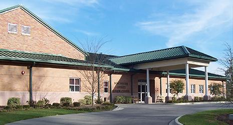 image of outside of faith sellers senior center in summerville