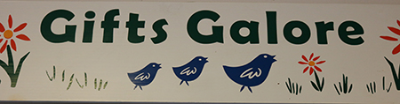 image of gift shop name at Faith Sellers Senior Center